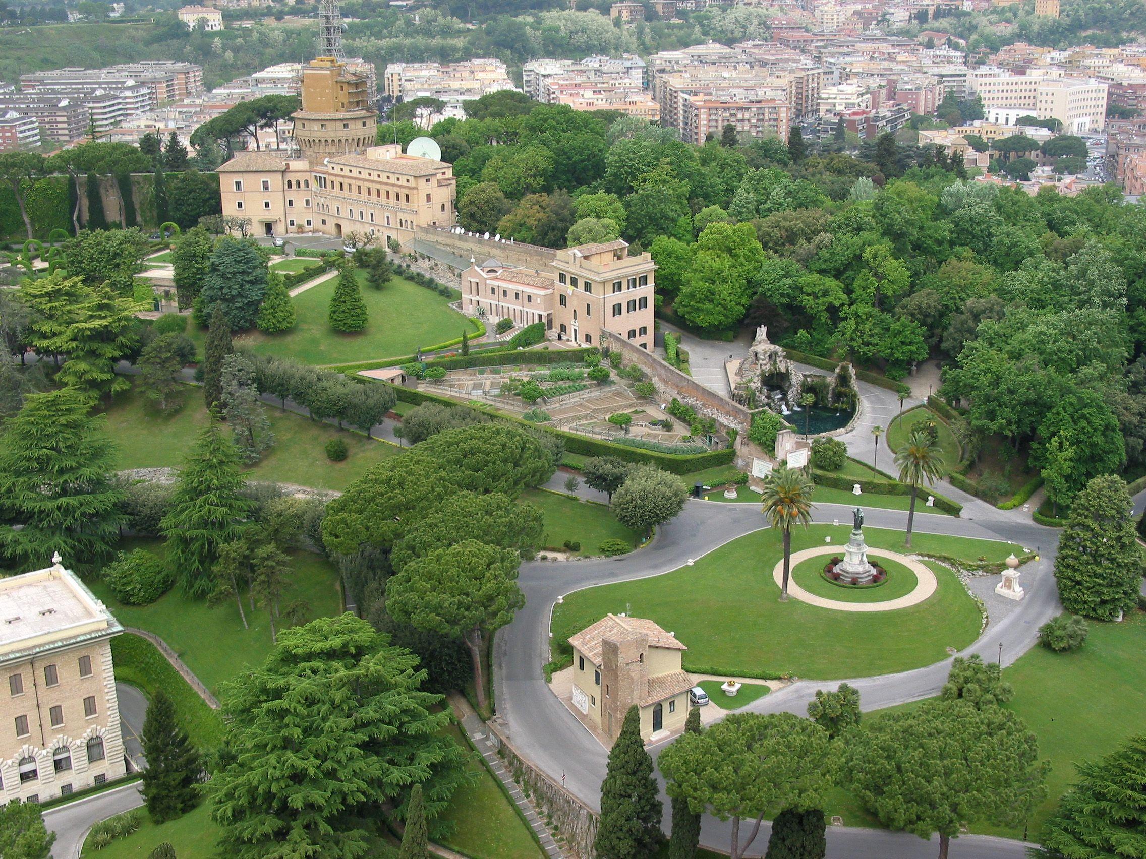 Vatican Jardins Vatikanstadt Burgen Und Schlosser Vatikan