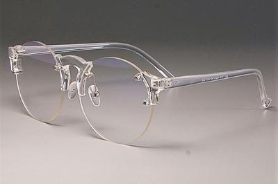 Photo of CCSPACE Transparente Brillenfassungen Männer Frauen Runde Linse Cat Eye Markendesigner Optical Fashion Eyewear Computerbrille 45221