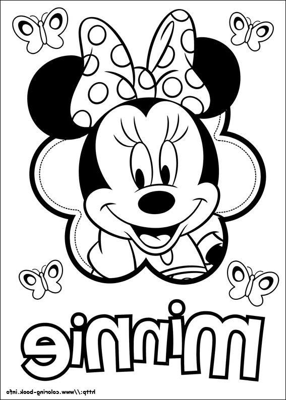 minnie mouse coloring book  malvorlagen ausmalbilder disney