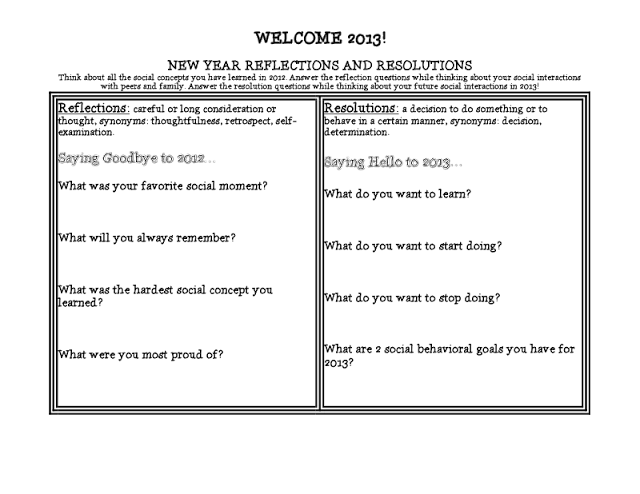 Just a Figure of Speech: New Year\'s Reflections and Resolutions ...