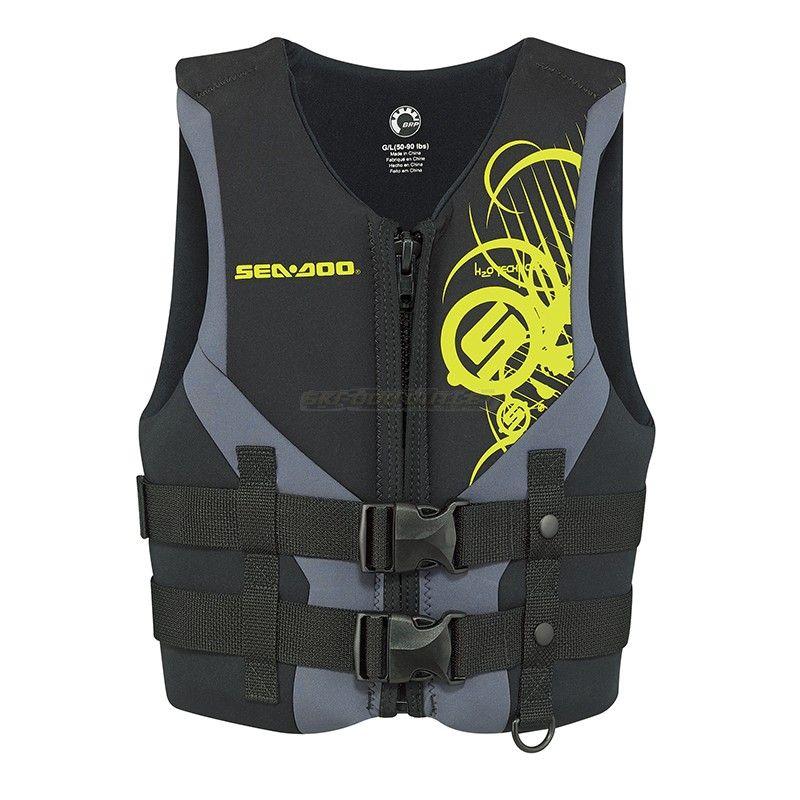 Sea-Doo Jr Freewave PFD - Life Jacket Black with Graphics