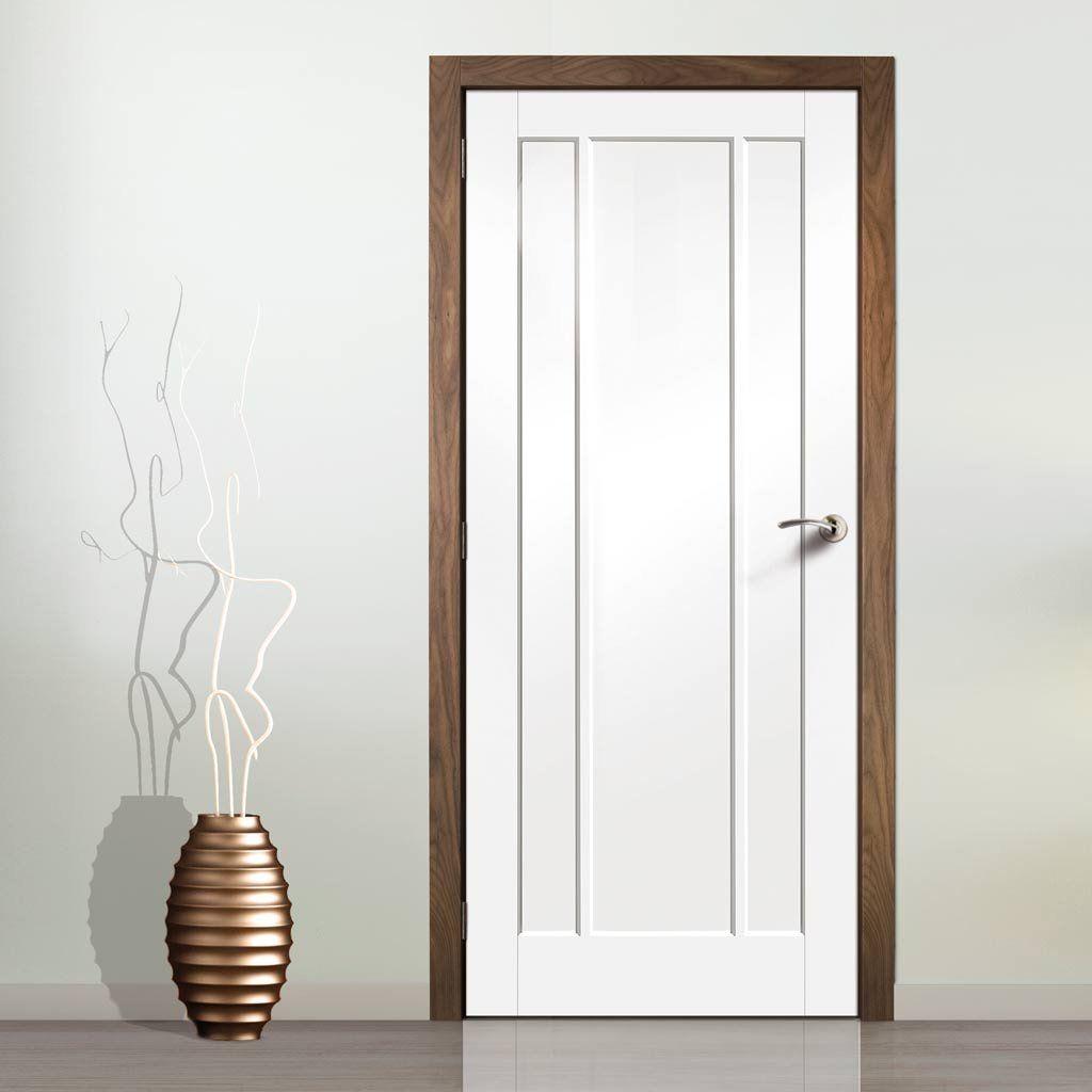 Bespoke Worcester 3 Panel Fire Door White Primed 1 2 Hour Fire Rated Fire Doors Panel Doors Door Fittings