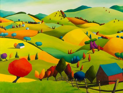 """""""Hills High Flying and Adored"""" Anne Cady"""