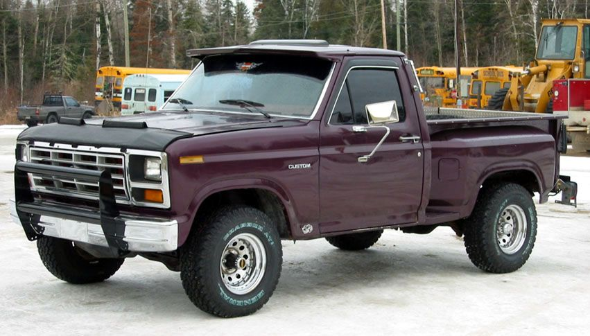 1980 f150 stepside my garage pinterest ford trucks for Garage ford peronne 80