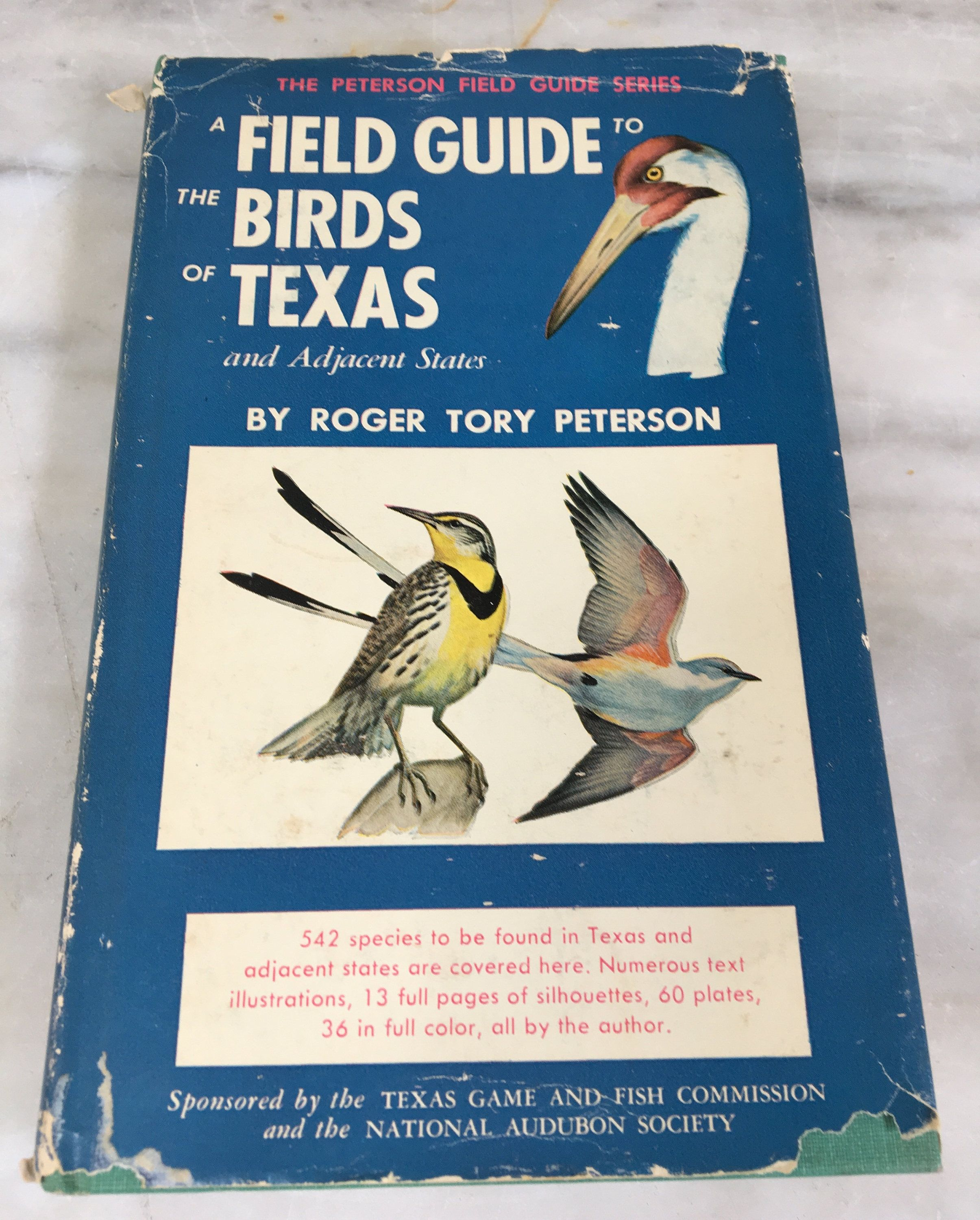 Vintage Peterson Field Guide To The Birds Of Texas Book Roger Tory Hardback W Dust Jacket 1967 Bird Birding By MotherMuse On Etsy