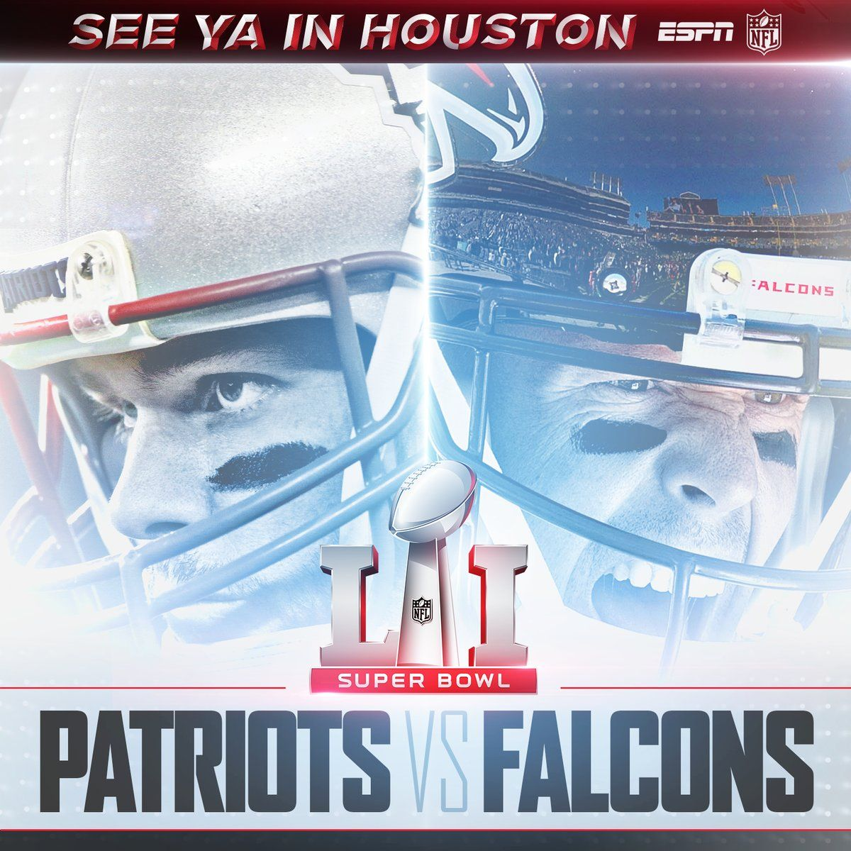 Superbowl 51 Is Set New England Patriots Vs Atlanta Falcons New England Patriots Football Patriots Superbowl Super Bowl