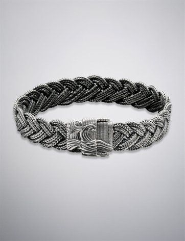 Men S Bracelet Samurai Waves Inspired David Yurman