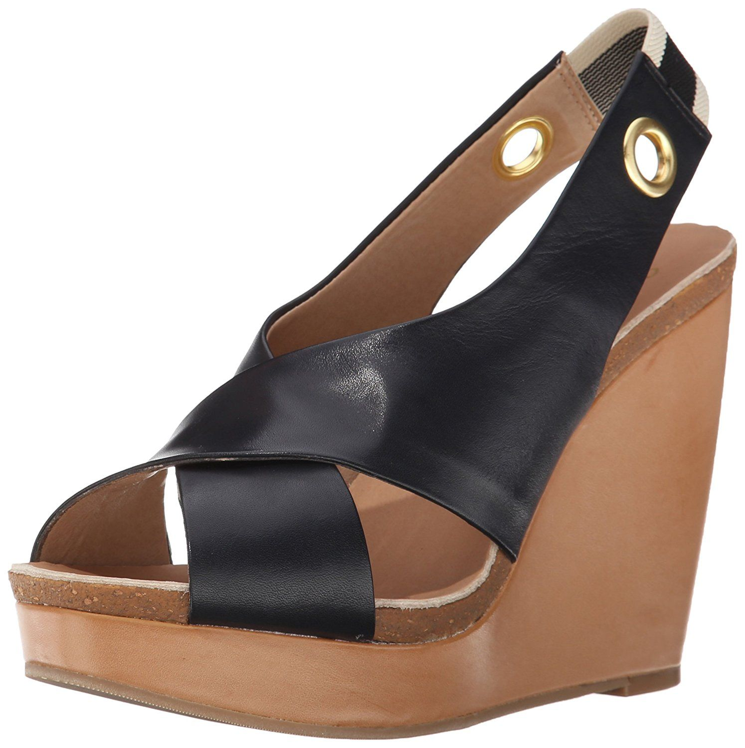 Splendid Women's Dinah Wedge Sandal *** Click image to review more details.    Shoes   Pinterest   Leather sandals, Wedge sandals and Sandals