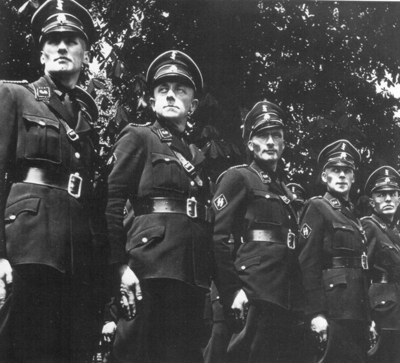 These are Dutch men of SS-Standarte Westland. Notice the