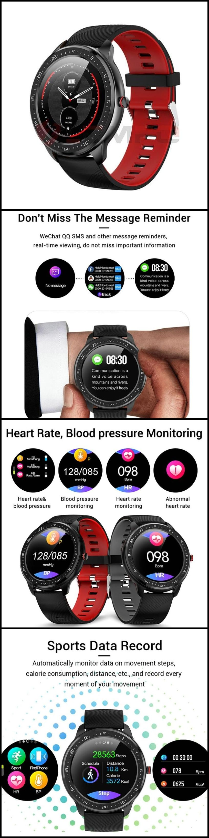 Ip67 Waterproof Smart Watch Smart Watch Smart Waterproof