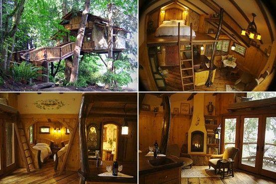 inside hobbit house forest interior hobbit home by. Black Bedroom Furniture Sets. Home Design Ideas