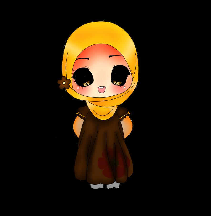 Chibi 126 49 Best Of Chibi Girl with Hejab by Dimasariefsu