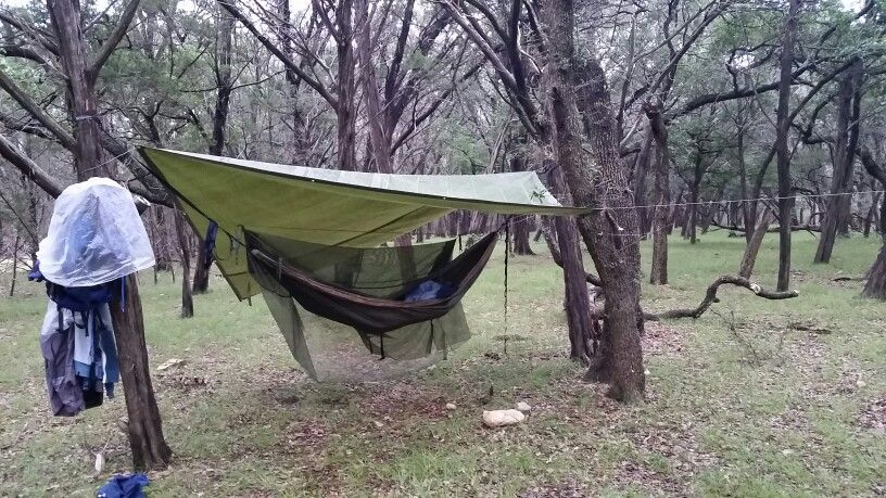 eno hammock a separate mosquito   this was my set up central texas  eno hammock a separate      rh   pinterest