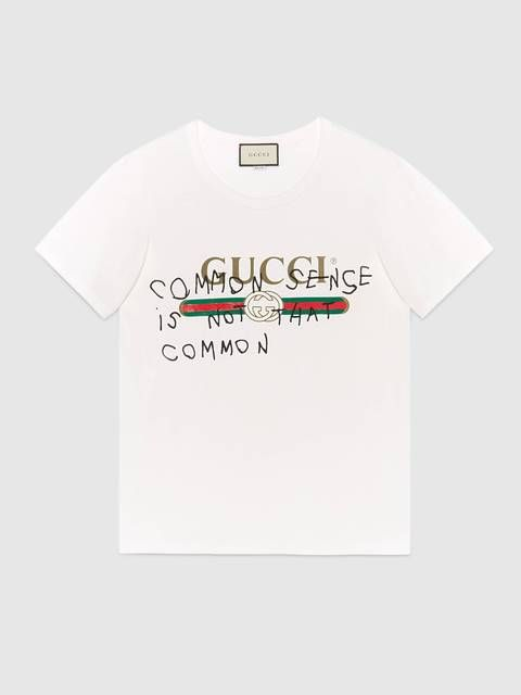 0b5053822a7 Gucci Common Sense T-Shirt