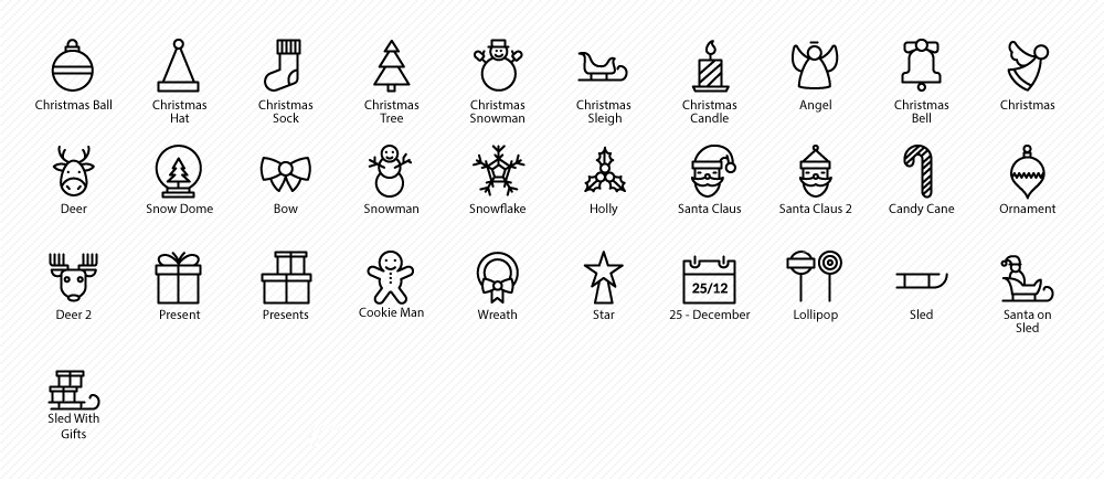 Vector icons Pack For iOs 8, iOS 7 & Android- Icons Mind | Icons
