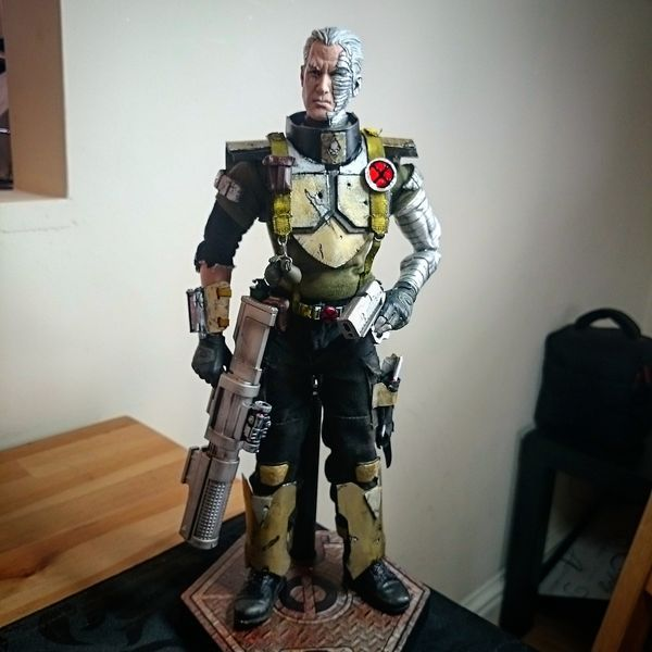 Cable (Marvel) Custom Action Figure