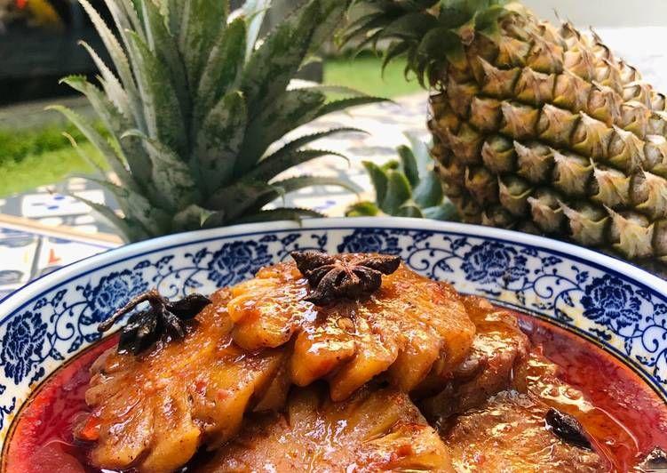 Cara Membuat Pacri Nanas Resep Di 2020 Resep Makanan Makanan Ayam Tandoori