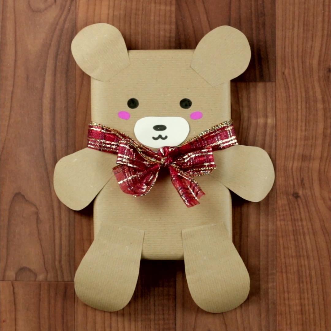 3 emballages cadeaux DIY pour Noël #decorationnoelfaitmainenfant