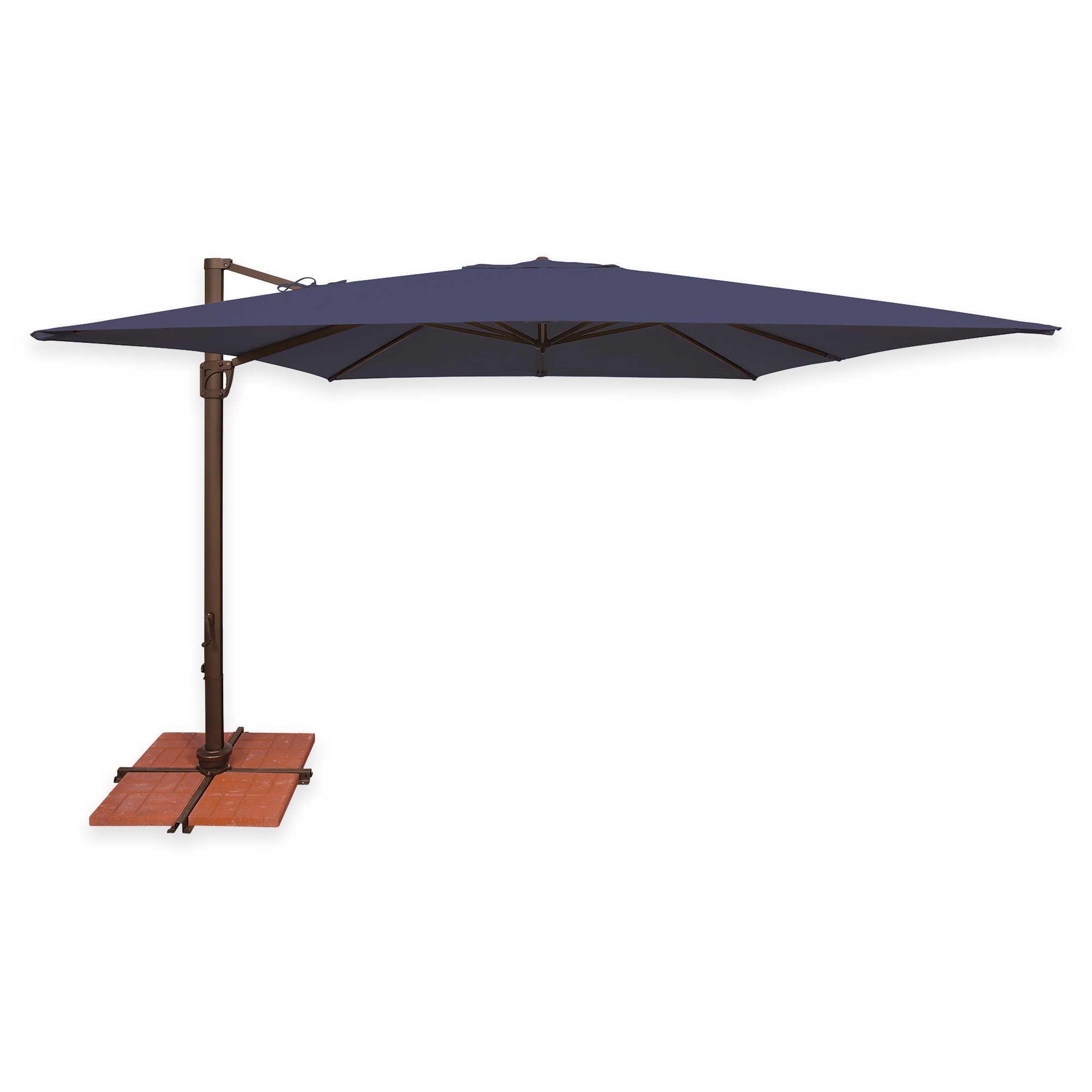 SimplyShade Bali 10Foot Square Cantilever Umbrella in