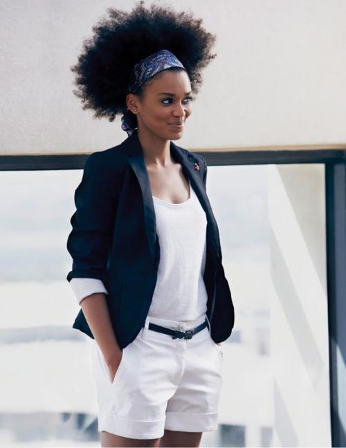natural-queen-of-coarse:    b-sama:    Pearl Thusi . Destiny Magazine, South Africa.