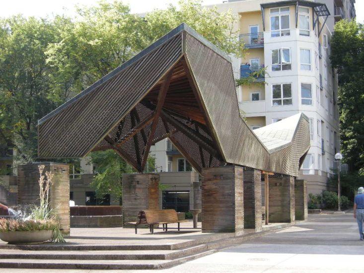 Lovejoy Fountain Pavilion Reahbilitation Peter Meijer Architect Pc Architecture Architectural Inspiration Architecture Design
