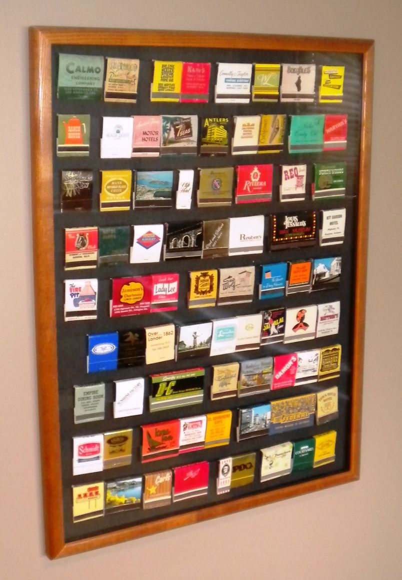 matchbook collection display