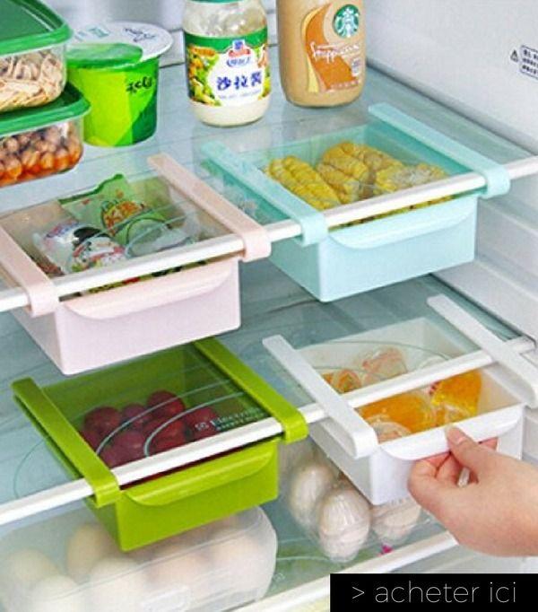 37 objets pour vous faciliter la vie la maison rangement organisation rangement frigo - Boite plastique cuisine ...