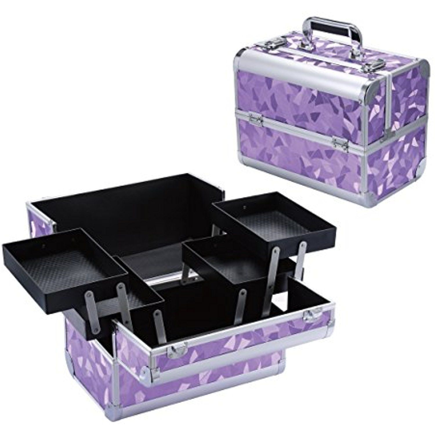 Makeup Train Case  Professional 125 Large Make Up Artist
