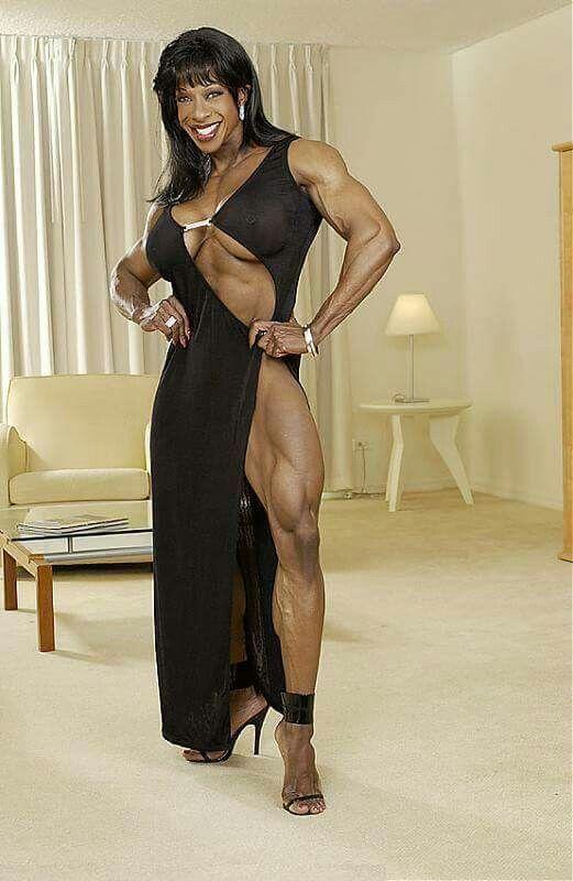 bodybuilder yvette Female