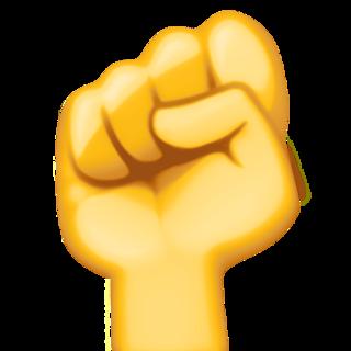 Raised Fist On Facebook 3 0 Raised Fist Fist Fist Pump