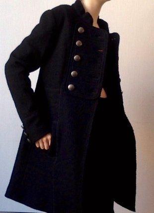 À vendre sur  vintedfrance !  manteau  veste  noir  36  doré ... fbc6a9f9a566