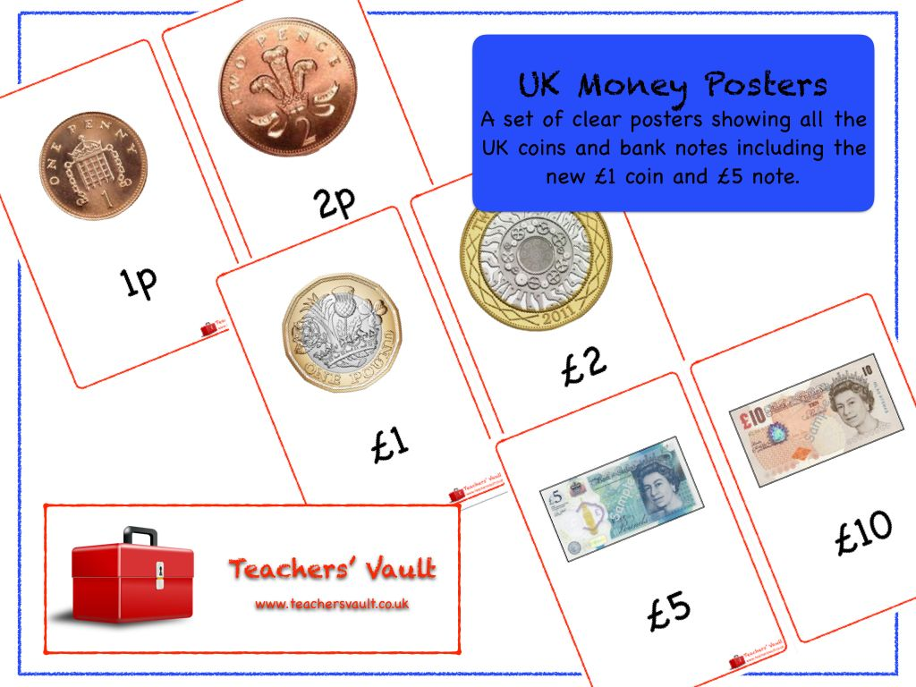 uk money posters eyfs ks1 ks2 maths measurement teaching resources activities and displays. Black Bedroom Furniture Sets. Home Design Ideas