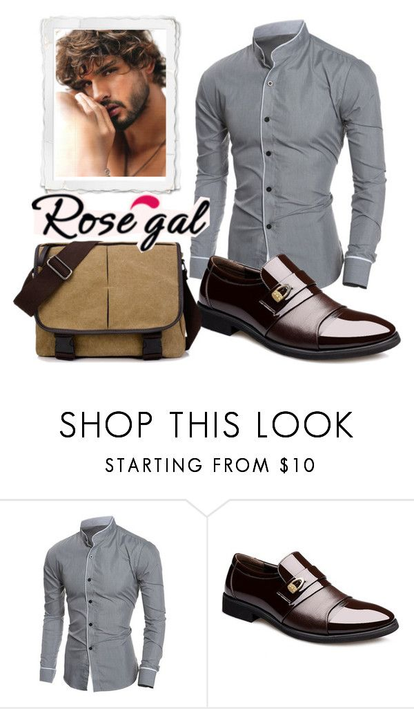 """""""Win $20 Cash from Rosegal!"""" by ideal-i ❤ liked on Polyvore featuring men's fashion, menswear, casualoutfit, menfashion and rosegal"""