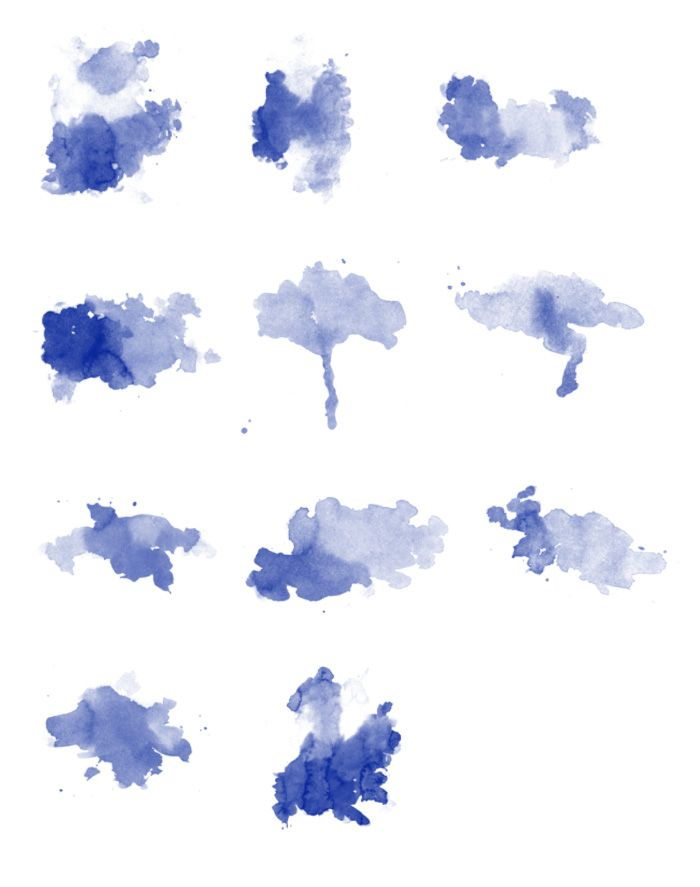 Free High Res Photoshop Brushes: Grungy Watercolor | Design ...