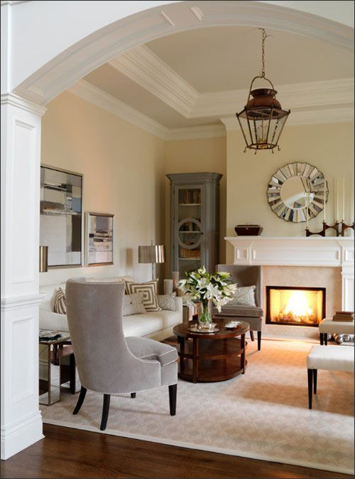 Diy French Lantern Chandelier Decor To Adore White Fireplace Mantels Home Home Living Room