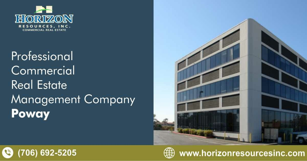 Professional Commercial Real Estate Management Company Poway California Horizon Resources Real Estate Management Commercial Real Estate Property Management