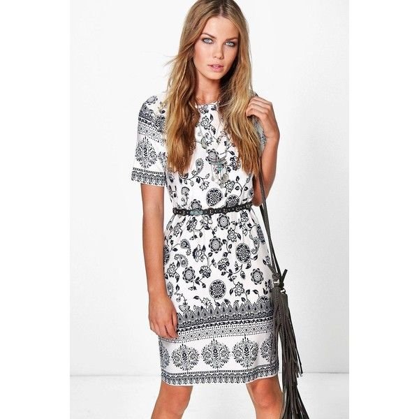 Amazing Price Boohoo Sleeveless Boho Shift Dress Aaa Quality Outlet With Paypal Order Outlet Nicekicks JXb0j122Es