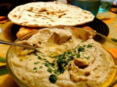 Baba Ghannouj - Smoked Eggplant Dip