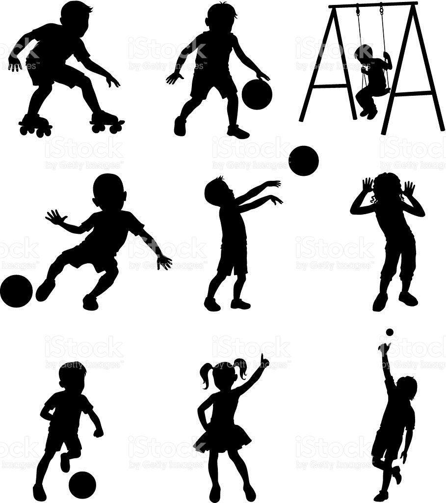 Www Twodozendesign Info I 1 Png Silhouette Kids Playing Silhouette Images
