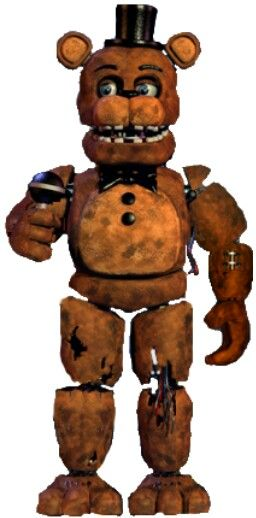 Withered Freddy | Five Nights at Freddy's | Fnaf, Five night