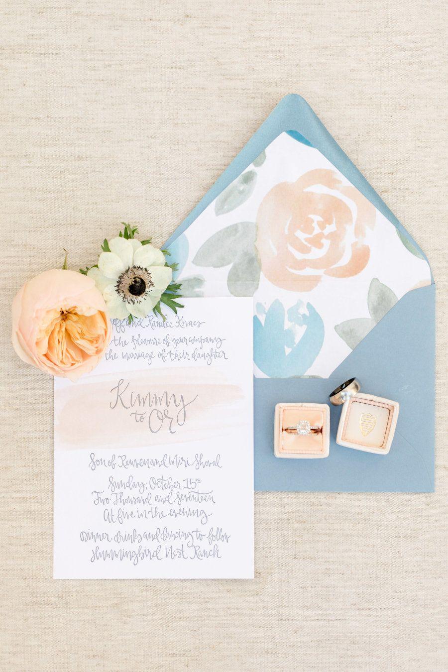 This Fall Ranch Fete Reaches Next Level Romance | Wedding invitation ...