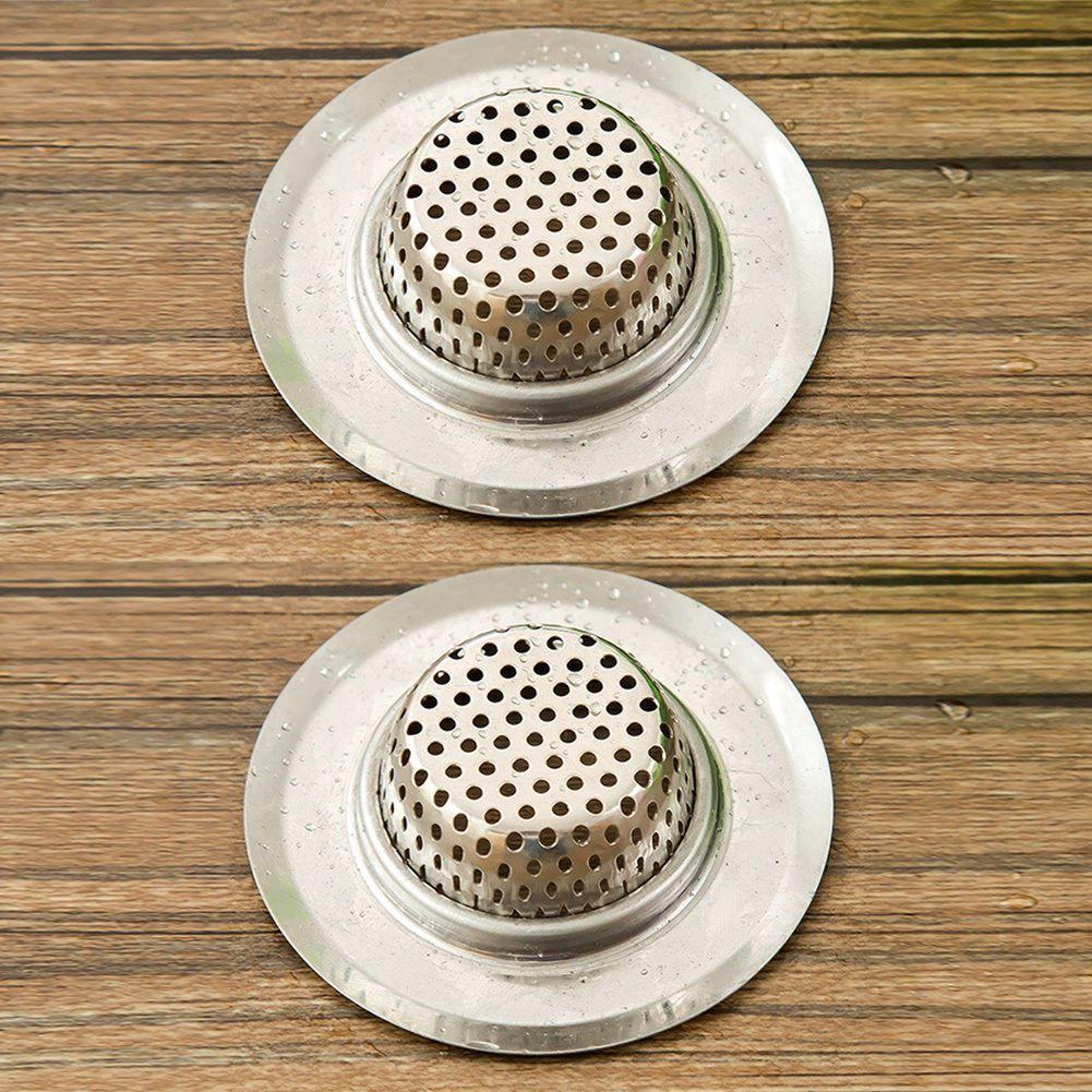 Bathroom kitchen sink drain strainer stainless steel mesh