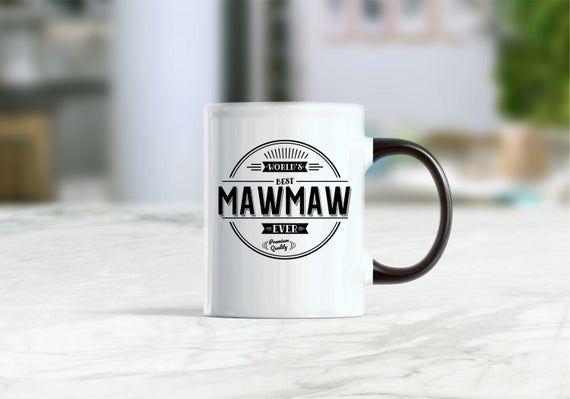 World's best mawmaw mug, mawmaw gift, mawmaw mug, mawmaw coffee mug, custom mug, mawmaw mugs, grandm