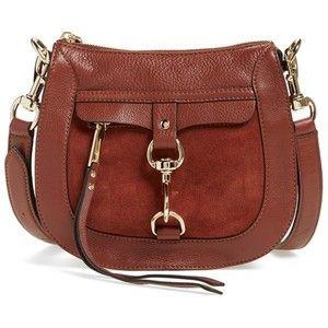 Women's Rebecca Minkoff Dog Clip Leather & Suede Saddle Bag
