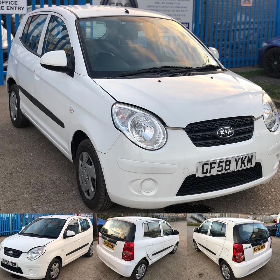 Ebay Kia Picanto 2009 Salvage Damaged Spares Or Repairs With