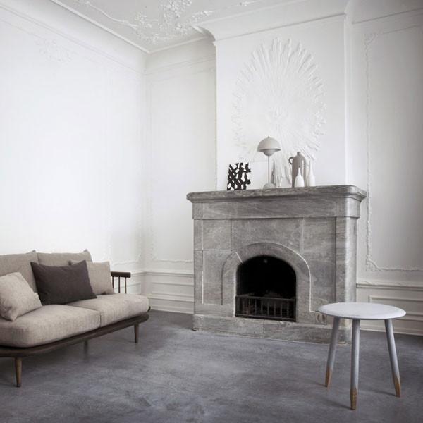 Deep Red Vp3 Flowerpot Table Lamp Tradition Verner Panton Vertigo Home Lounge Design Lounge Chair Design Interior Design
