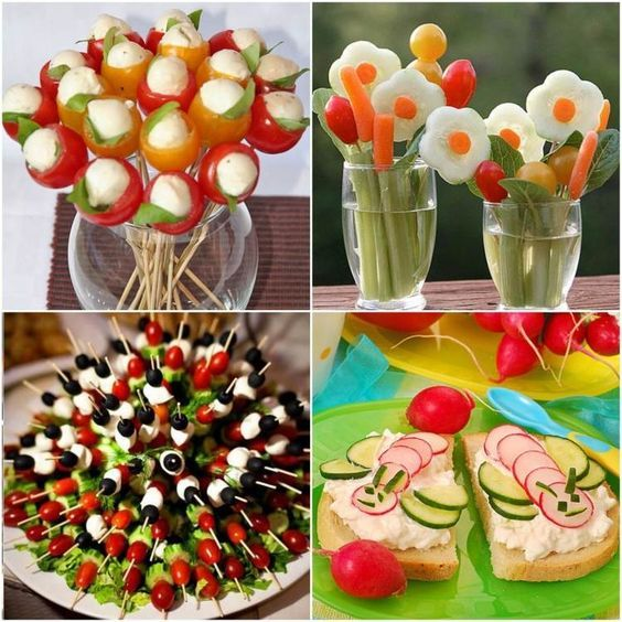 45 idées repas santé et amusant de légumes pour les enfants! | Idée repas santé, Idée repas et ...