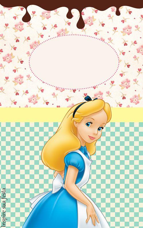 Http Inspiresuafesta Com Alice No Pais Das Maravilhas Kit Festa