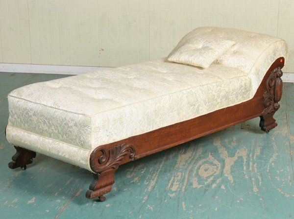 Vintage fainting couch Victorian 1189 Late 1800 Fainting Couch Tiger Oak Scroll Leaf Lot 1189 Pinterest 1189 Late 1800 Fainting Couch Tiger Oak Scroll Leaf On Chaise