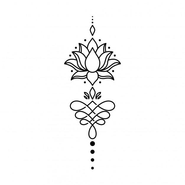 Geometric Tattoo Lotus Tattoo Design Geometric Tattoo Lotus Mandala Tattoo Design